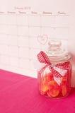 Sanka valentin dag - 14 av februari Royaltyfri Foto