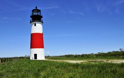 The Sankaty Lighthouse royalty free stock images