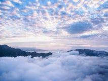 SANKNOKWUA στο υψηλότερο μέγιστο Kanchanaburi, Ταϊλάνδη Στοκ Φωτογραφίες