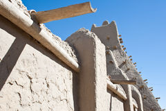 Sankore mosque in Timbuctou. Mud brick mosque in Timbuktu (Mali, Africa Stock Images