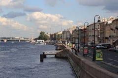 Sankt彼得斯堡,年2011年 库存图片