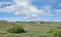 Sankt彼得Ording,北部弗里西亚,德国沙丘  库存图片