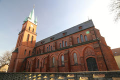 Sankt玛丽亚Hilf Kirche马格德堡 库存图片