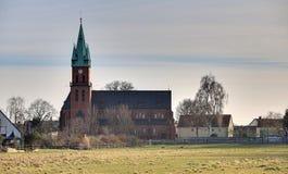 Sankt玛丽亚Hilf Kirche马格德堡HDR 免版税库存图片