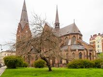 Sankt陪替氏教会,马尔摩,瑞典 图库摄影