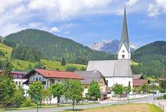 Sankt马丁上午Tennengebirge,奥地利 库存图片