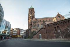 Sankt-adalbert Kirche Aachen Deutschland Stockfotos