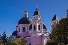 Sankt andedomkyrka i Chernivtsi Royaltyfri Bild