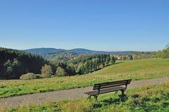 Sankt Andreasberg,哈茨山国家公园,德国 免版税库存图片