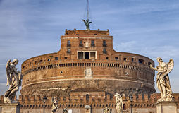 Sankt Angelo in Rome Royalty-vrije Stock Afbeelding