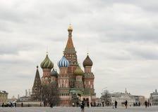 Sankt basilikadomkyrka för Moskva Royaltyfri Bild