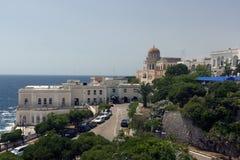 Sankt Cesarea Lecce Salento Stockfotos