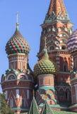 Sankt domkyrka för basilika` s i Moskva Arkivbild
