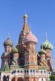 Sankt domkyrka för basilika` s i Moskva Royaltyfri Bild