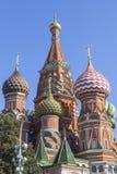 Sankt domkyrka för basilika` s i Moskva Royaltyfri Foto