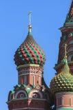 Sankt domkyrka för basilika` s i Moskva Arkivfoto