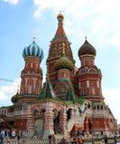 Sankt domkyrka för basilika` s, Moskva fotografering för bildbyråer