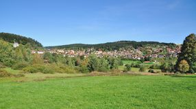 Sankt Englmar, foresta bavarese, wald del bayerischer Fotografia Stock