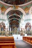 Sankt Gallen Schweiz Arkivbild
