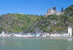 Sankt Goarshausen,middle Rhine Valley,Germany Stock Photos