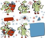Sankt-Hund lizenzfreie abbildung