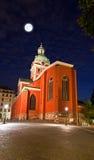 Sankt Jakobs kyrka church in stockholm Stock Image