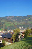 Sankt Johann im Pongau, Austria Immagini Stock Libere da Diritti