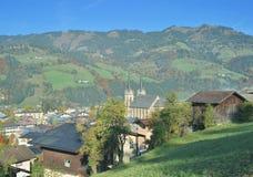 Sankt Johann im Pongau, Autriche photographie stock