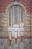 Sankt Johannes Kyrka Windows Stock Image
