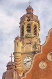 Sankt Johannes Kyrkas Belltower Royalty Free Stock Photo