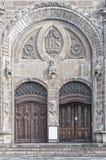 Sankt Johannes Kyrkas główne wejście Zdjęcia Stock