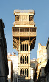 Sankt justa Höhenruder in Lissabon Lizenzfreies Stockbild