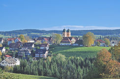 Sankt Maergen,Black Forest,Germany Royalty Free Stock Photo