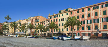 Sankt Margherita ligure stockfotos