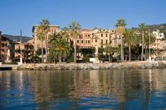 Sankt Margherita Ligure, Promenade stockbild