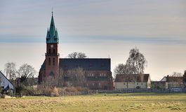 Sankt-Maria-Hilf-Kirche Magdeburg HDR Royalty Free Stock Images