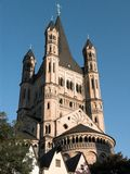 Sankt Martin Church Cologne Stock Photo