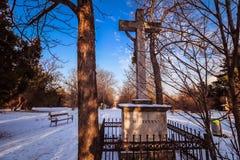 Sankt Marx Cemetery en Viena Foto de archivo libre de regalías
