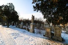 Sankt Marx Cemetery i Wien Royaltyfri Bild