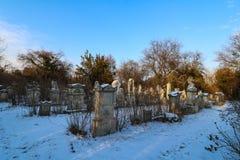 Sankt Marx Cemetery a Vienna Fotografia Stock Libera da Diritti