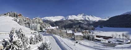 Sankt Moritz Imagem de Stock Royalty Free