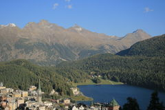 Sankt Moritz Fotos de archivo