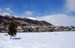 Sankt Moritz Royalty-vrije Stock Fotografie