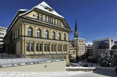Sankt Moritz Fotografia Stock