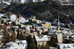 Sankt Moritz Imagens de Stock Royalty Free