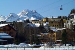 Sankt Moritz Foto de Stock Royalty Free