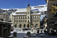 Sankt Moritz Stock Photo