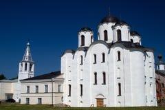 Sankt- Nikolauskathedrale, großes Novgorod, Russland Stockfotos