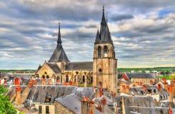 Sankt- Nikolauskirche in Blois, Frankreich Stockbild