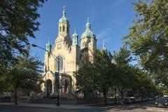 Sankt- Nikolauskirche in Chicago Lizenzfreie Stockfotografie